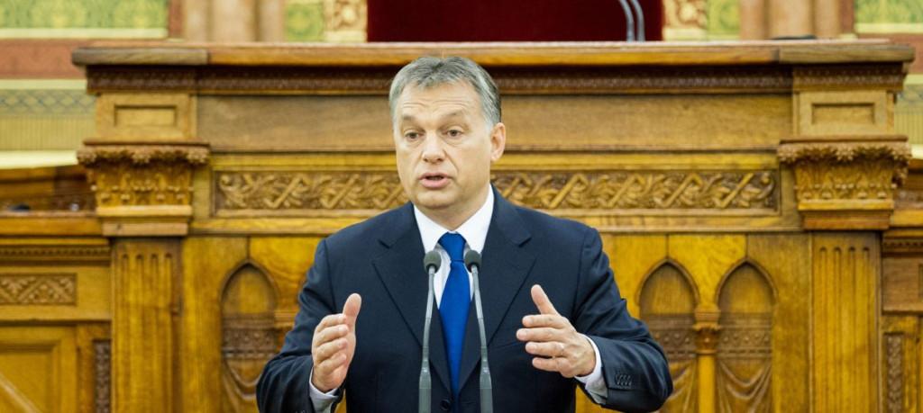 Orbán Viktor az Országgyűlés ülésén (miniszterelnok.hu)