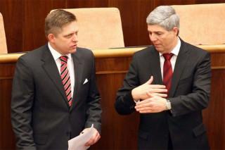 Az utóbbi időben száznyolcvan fokos fordulat állt be Bugár Béla szótárában Robert Ficót illetően.  - Fotó: sme.sk