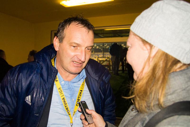 Interjú László Csabával (Fotó: Hideghéthy)