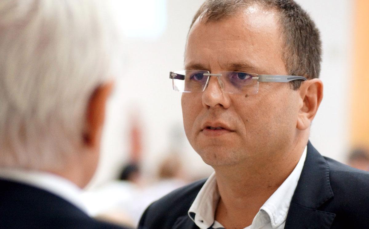 Őry Péter, a felvidéki Magyar Közösség Pártja Országos Tanácsának elnöke